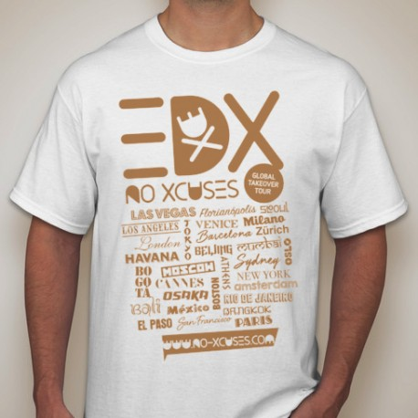 Global Takeover Tour - EDX - T-Shirt